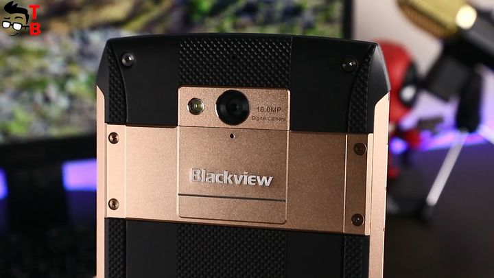 Blackview BV8000 Pro Camera