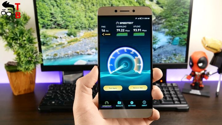 LeEco Le S3 X626 Review SpeedTest