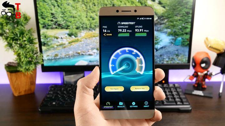 LeEco Le S3 X626 Review SpeedTest