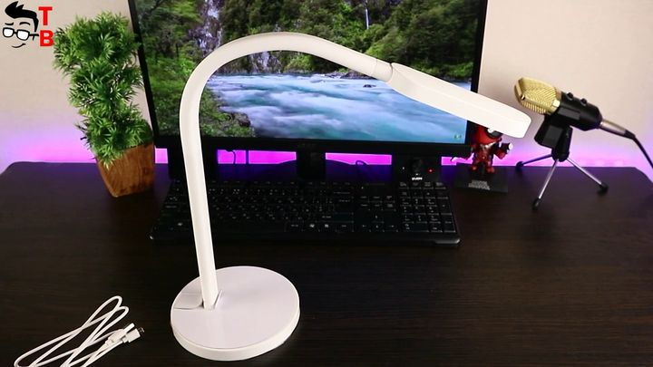 Review Xiaomi Yeelight YLTD01YL LED Table Lamp