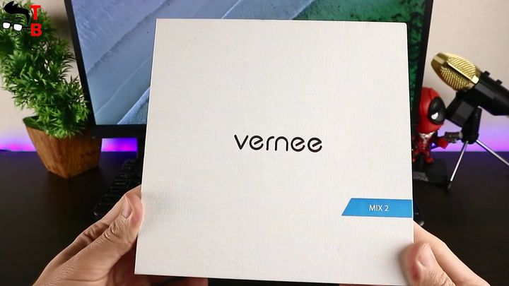 Vernee Mix 2 Review: Front Box