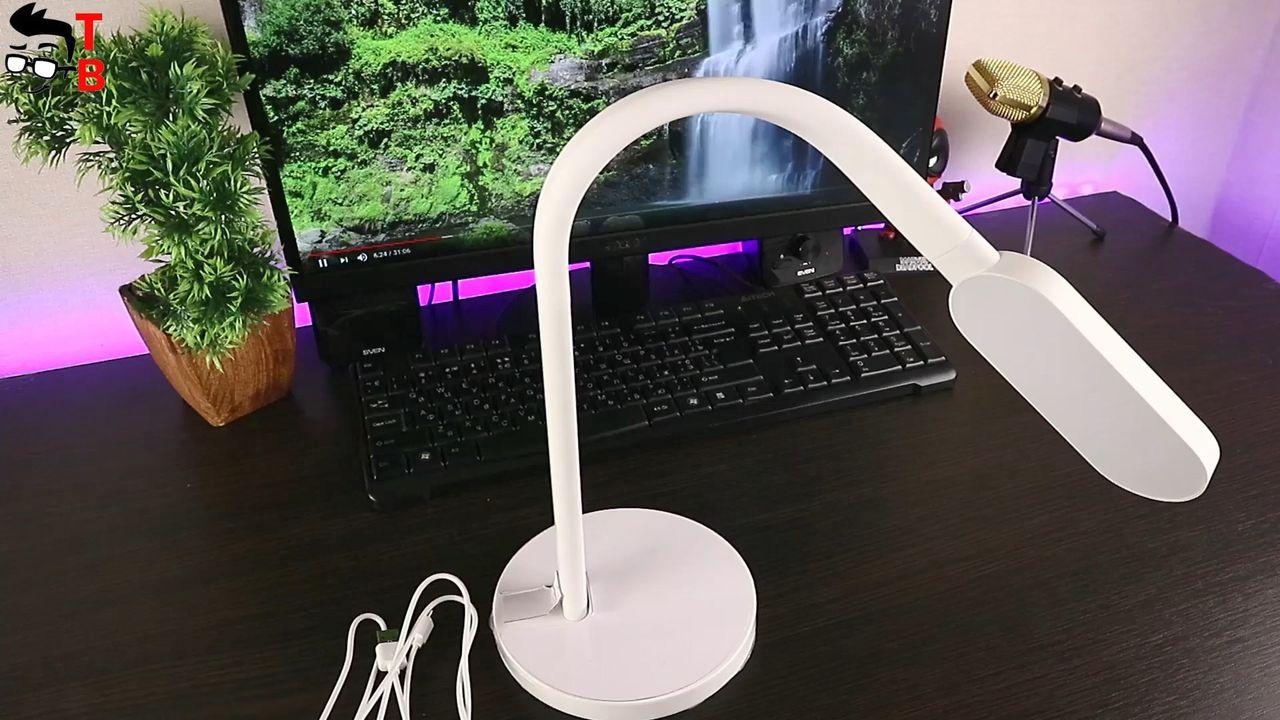 Review Xiaomi Yeelight YLTD01YL LED Table Lamp