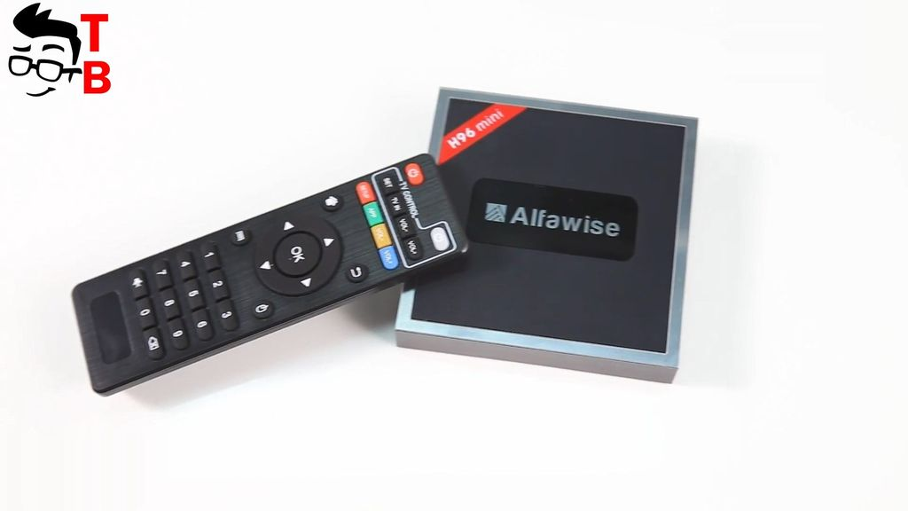Alfawise H96 Mini: Android TV Box with HDMI Input/Output