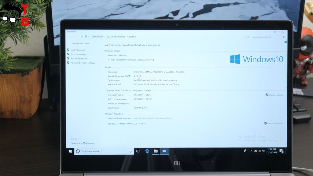 Xiaomi Notebook Air 13.3 (2017) Review Compact Laptop