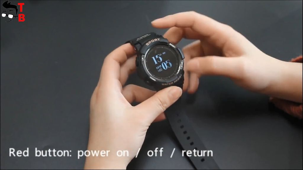No.1 F6 First Review: IP68 SmartWatch with 50 days of ...