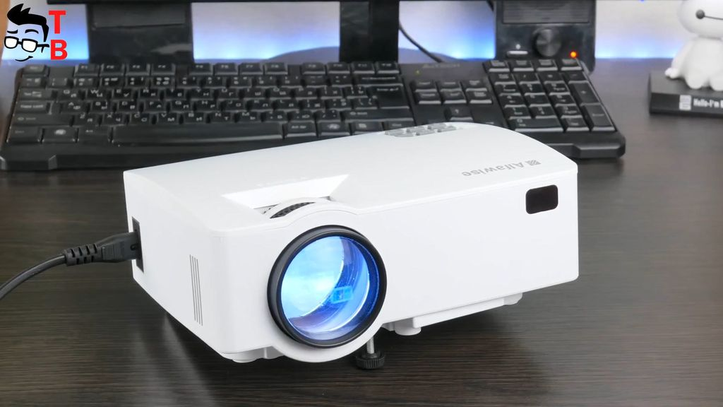 "Alfawise A8 REVIEW In-Depth: 100"" Projector under $100"