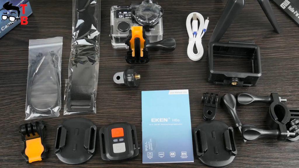 EKEN H6S REVIEW In-Depth: 4K EIS Action Camera under $100