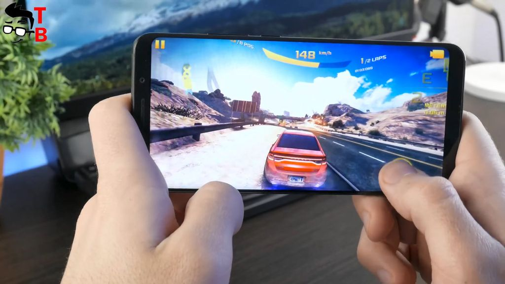 Elephone U Pro REVIEW asphalt 8 gaming