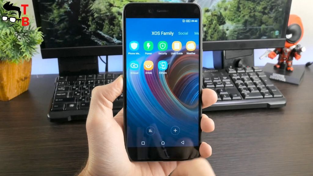 Infinix Zero 5 REVIEW xos software