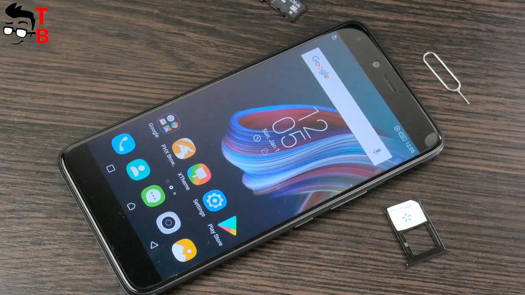 Infinix Zero 5 REVIEW dual sim slot