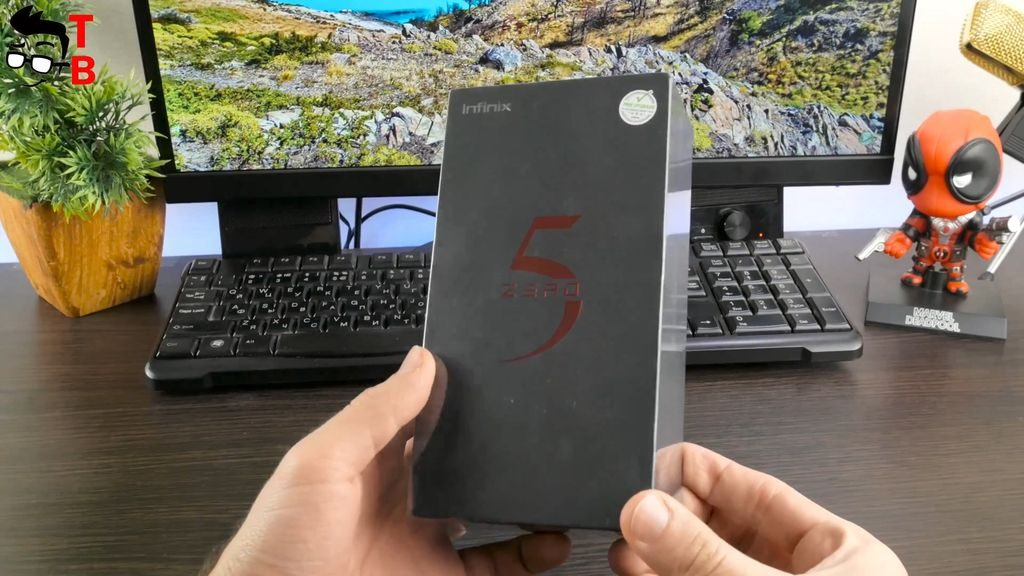 Infinix Zero 5 REVIEW box and package
