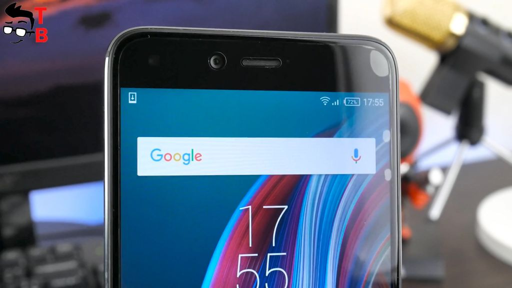 Infinix Zero 5 REVIEW Design front camera