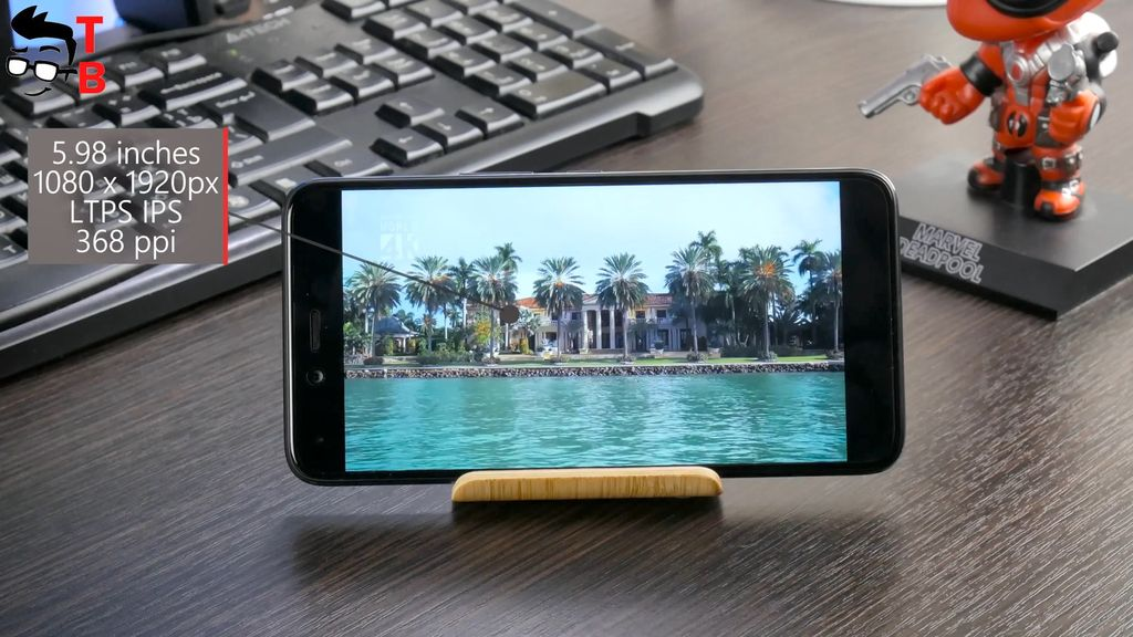 Infinix Zero 5 REVIEW Display