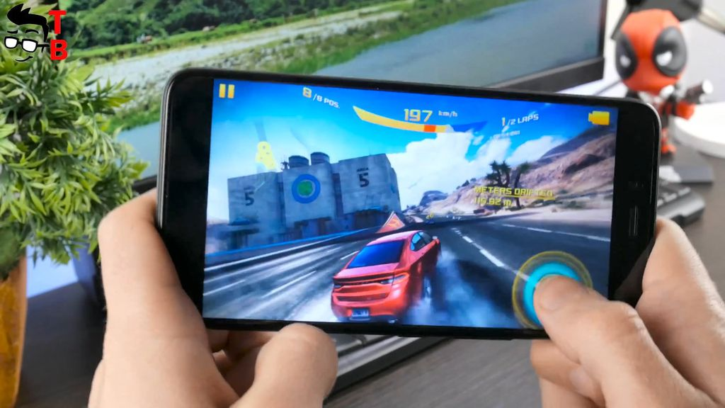 Infinix Zero 5 REVIEW asphalt 8
