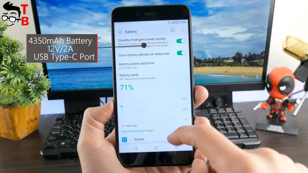 Infinix Zero 5 REVIEW battery