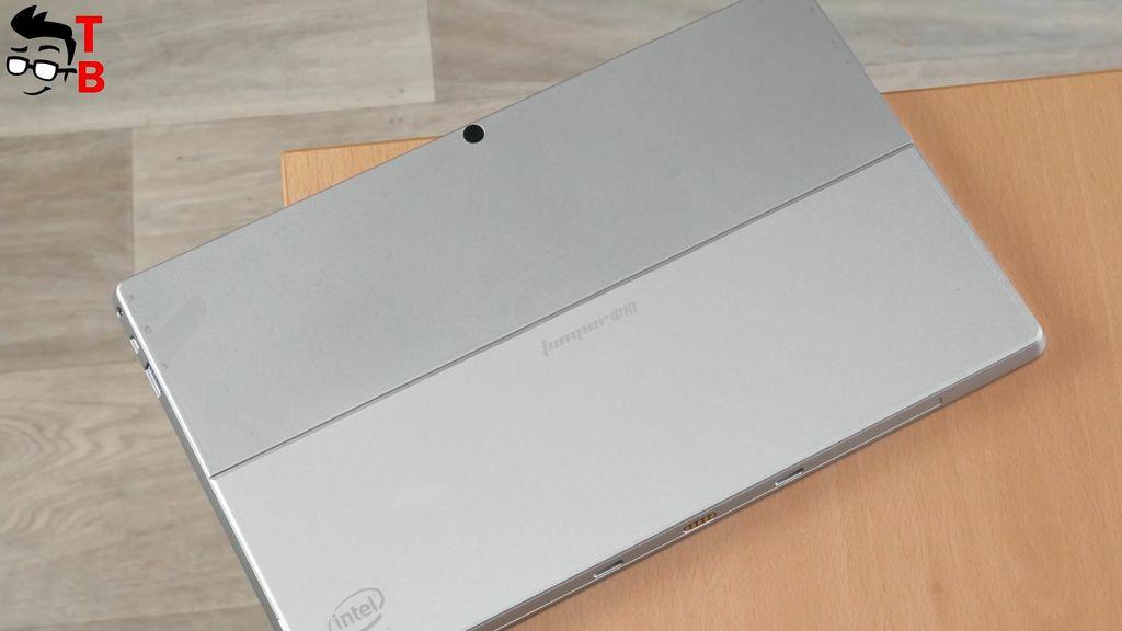 Jumper EZpad 6 Plus Review Design Back panel