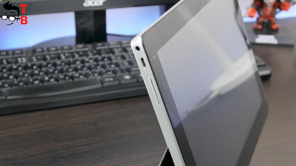 Jumper EZpad 6 Plus Review Design connectors