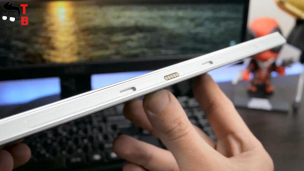 Jumper EZpad 6 Plus Review Design magnetic connector