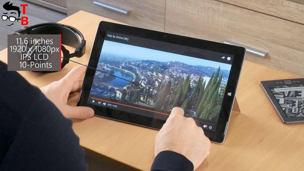 Jumper EZpad 6 Plus Review Display