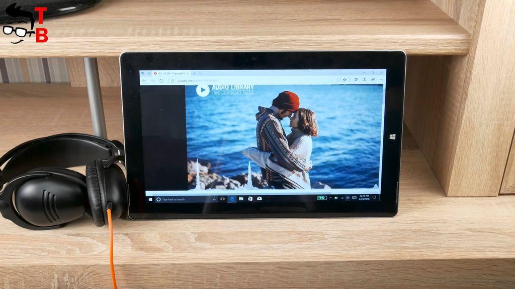 Jumper EZpad 6 Plus Review sound