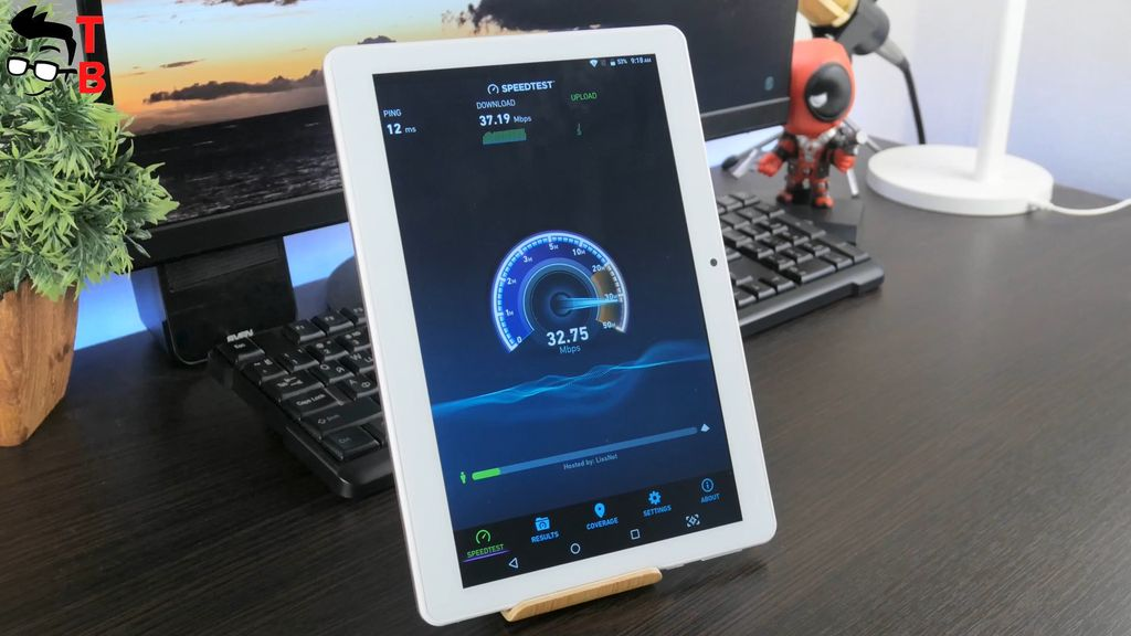 VOYO i8 Pro REVIEW Wi-Fi speedtest