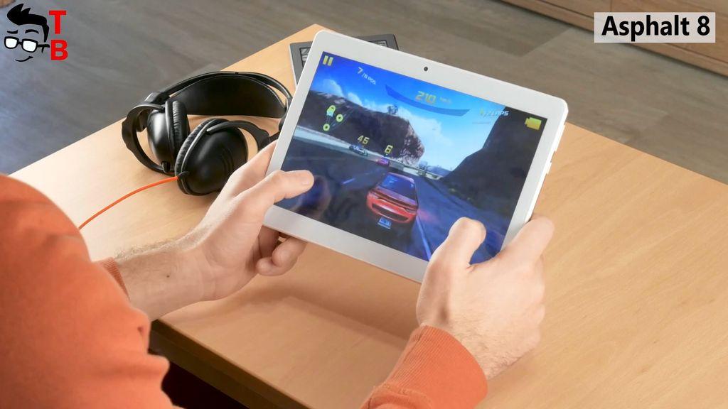 VOYO i8 Pro REVIEW gaming asphalt 8