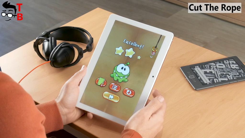 VOYO i8 Pro REVIEW gaming cut the rope