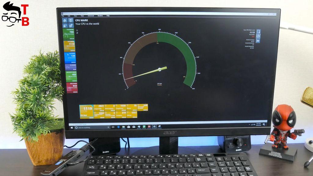 ACEPC T5 REVIEW performance passmark