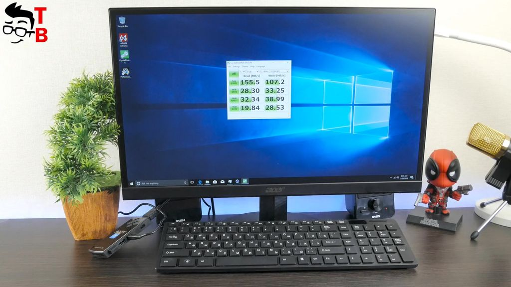 ACEPC T5 REVIEW memory speed