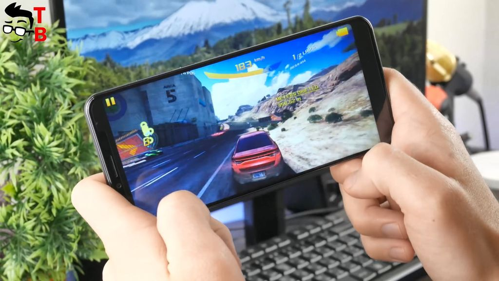 Cubot X18 Plus REVIEW asphalt 8