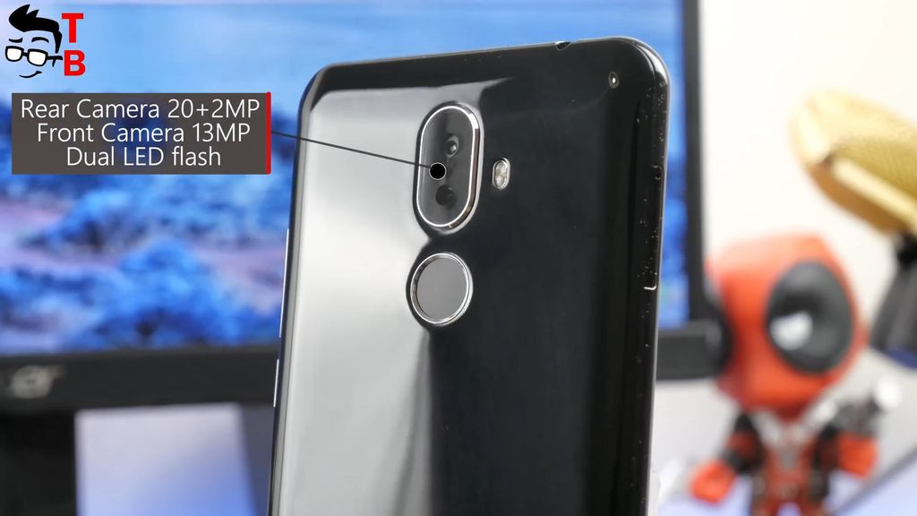 Cubot X18 Plus REVIEW rear camera