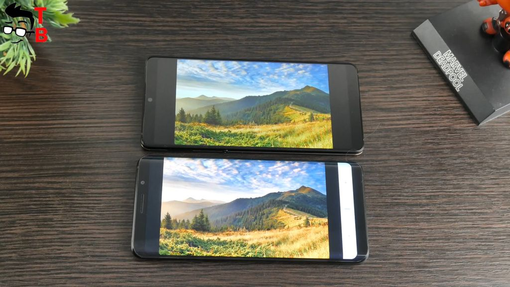 Smartisan Nut Pro 2 REVIEW display vs compare Elephone U Pro