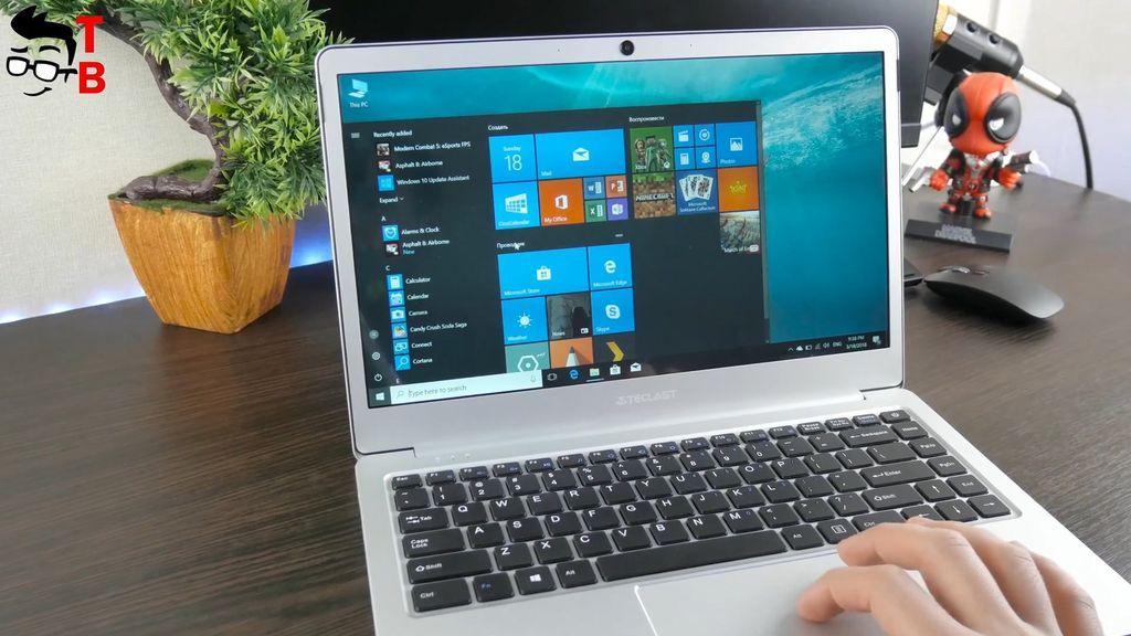 Teclast F7 REVIEW In-Depth: Best Laptop in 2018 under $300