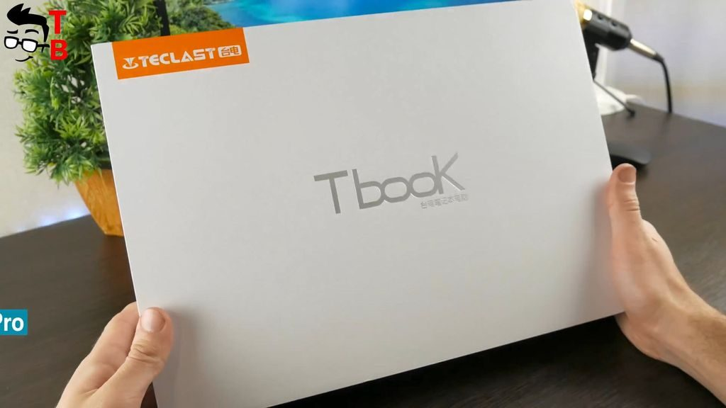 Teclast F7 REVIEW unboxing package