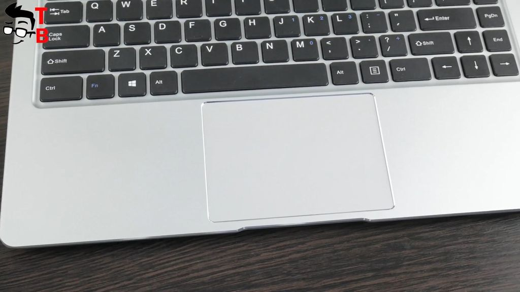 Teclast F7 REVIEW touchpad