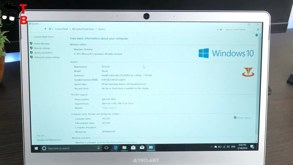 Teclast F7 REVIEW hardware