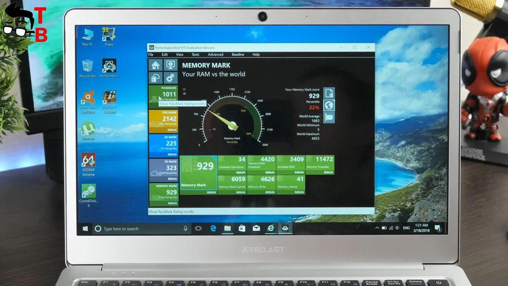 Teclast F7 REVIEW performance test 9.0