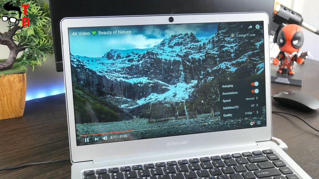 Teclast F7 REVIEW 4K videos on YouTube