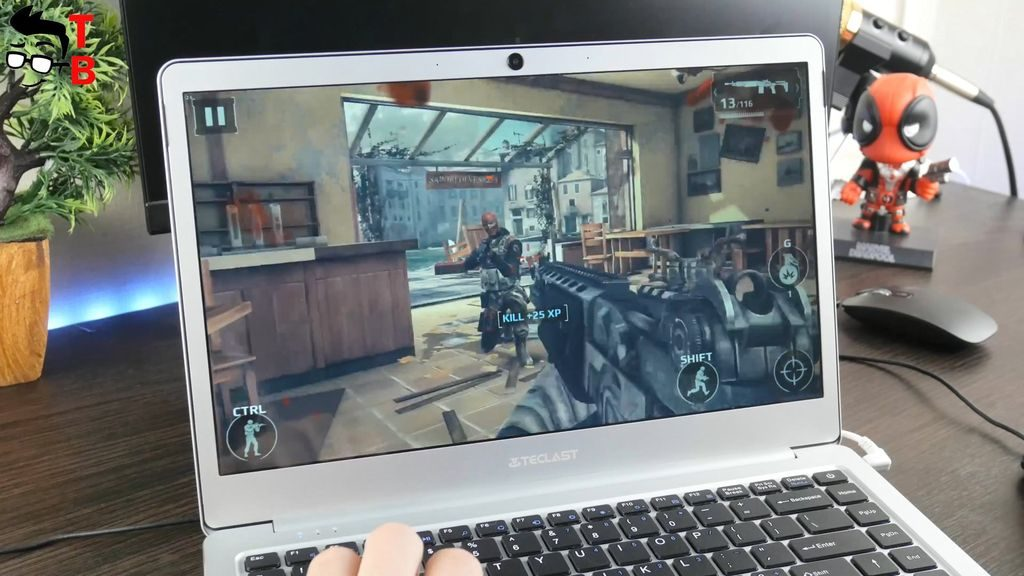 Teclast F7 REVIEW gaming modern combat 5