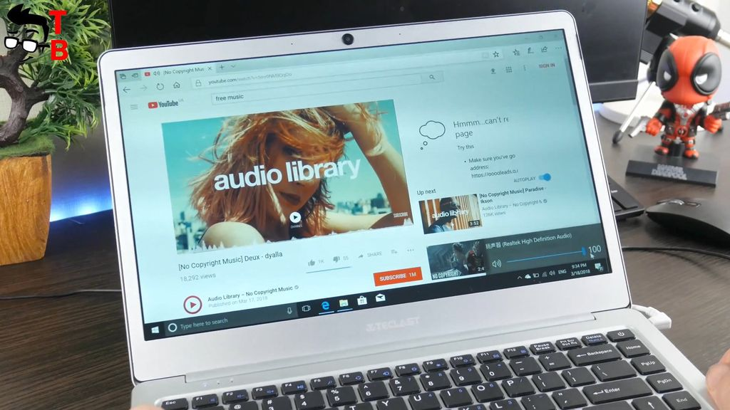 Teclast F7 REVIEW sound