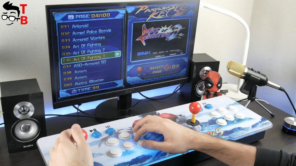 Pandora's Box 5S REVIEW In-Depth: 999 Retro Arcade Games