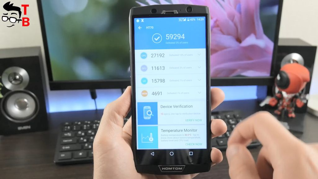 HOMTOM HT70 Review In-Depth: 10000mAh Battery is enough for you?