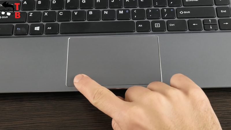 Teclast F6 REVIEW touchpad