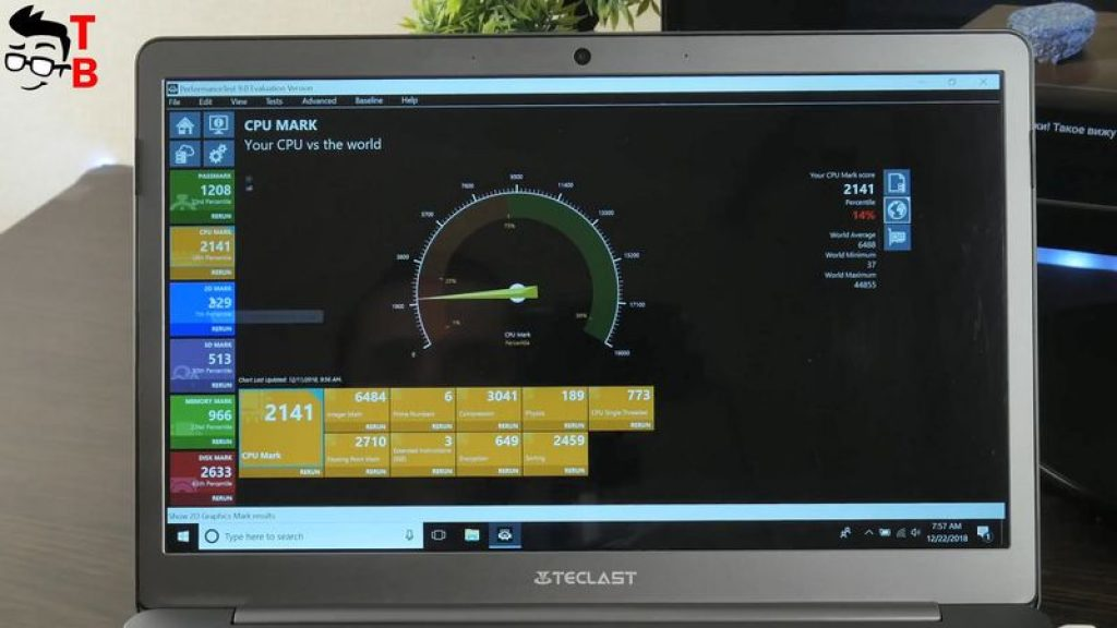 Teclast F6 REVIEW performance test