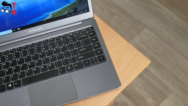 Teclast F6 REVIEW laptop design