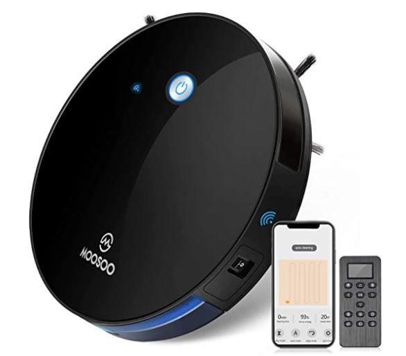 MOOSOO Robot Vacuum Cleaner - Amazon