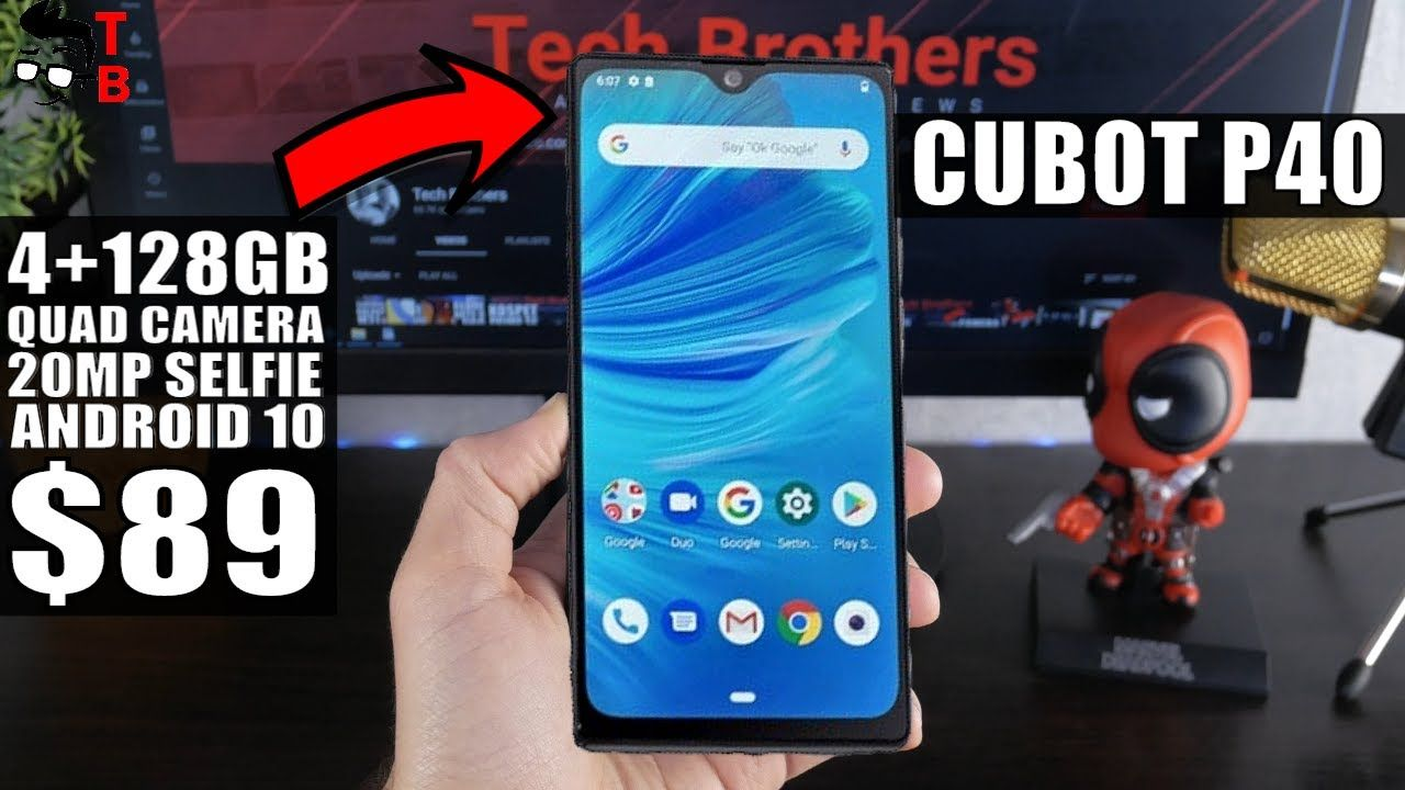 I CAN'T Believe This Phone Is Only $89! Cubot P40
