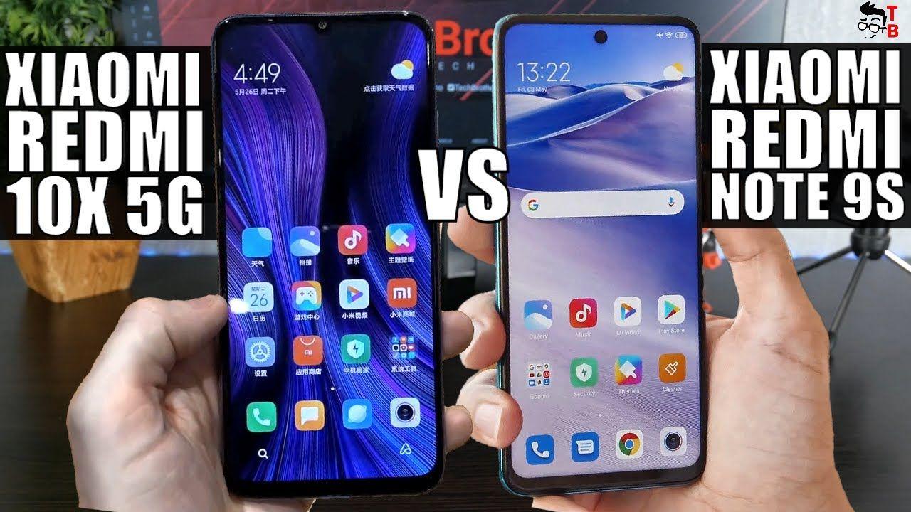 Xiaomi Redmi 10X 5G vs Redmi Note 9S: Which Smartphone Is Better?