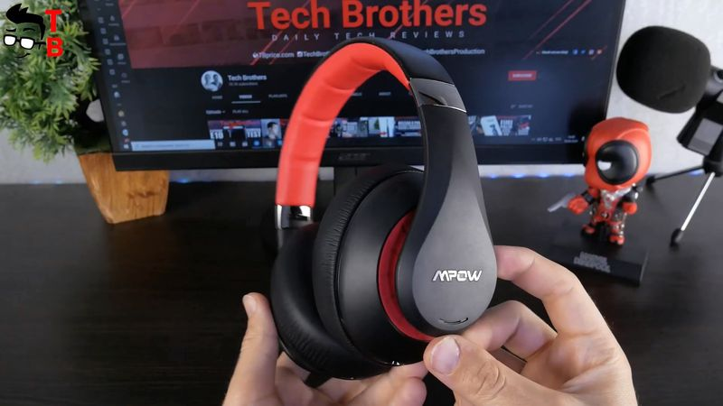 MPOW 059 Plus REVIEW: 50 Hours Playtime ANC Headphones 2020!