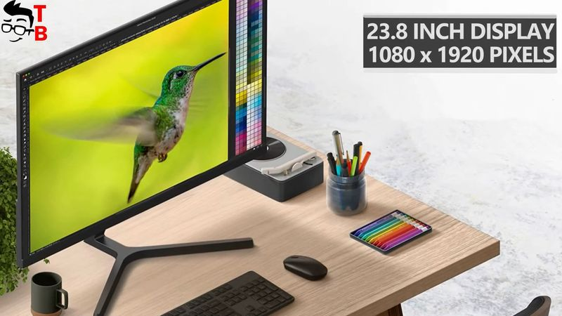Redmi Display 1A PREVIEW: The Cheapest 23.8-inch IPS Monitor!
